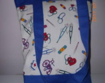 Medical Emblem Tote Bag