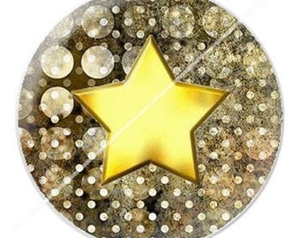 resin cabochon is 25 mm star fee1 stick