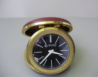 Sport Vintage Travel Alarm Clock Wind Up