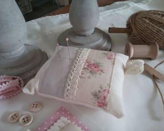 Beautiful fabric pin cushion
