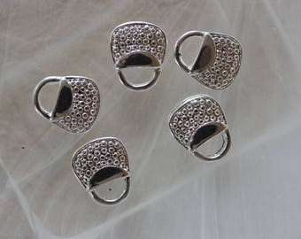 ❤ made of 925 sterling silver - silver purse charm