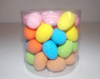 Set of 2 packs 48 plastic eggs