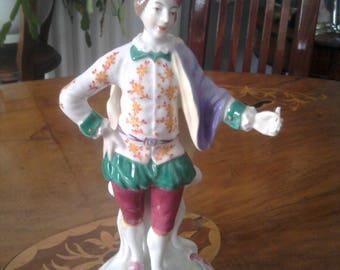 Spode Chelsea Ranleigh figurinec 1960