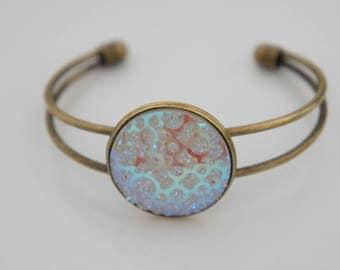 Bracelet antique gold - vintage nature.