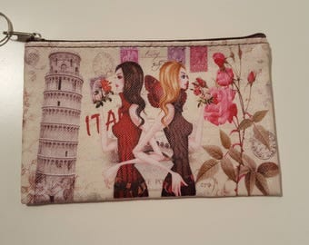 Clutch purse fashion Italian