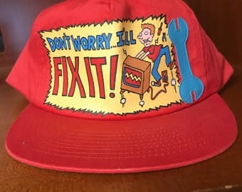 "vintage ""Dont worry I'll fix it!"""