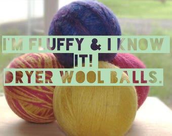 Dryer Wool balls
