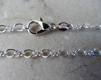 925 sterling silver chain length: 45 cm