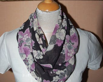 scarf printed infinity scarf