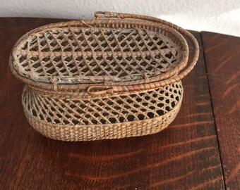 Fancy Basket with Single Handle