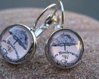 "Boudoir ""Boulevards of Paris"" earrings"
