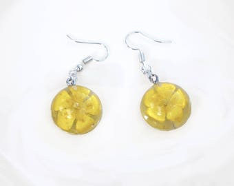 Buttercup Flower Earrings