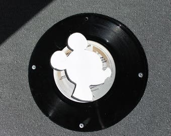 Decorative Mickey riveted vinyls and canson