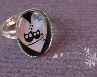Ring duo owls