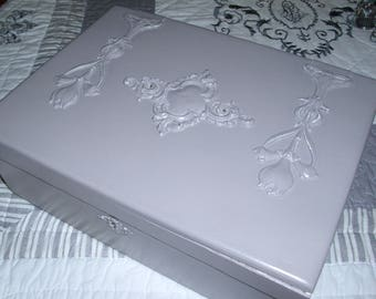 Sewing, jewelry, photo storage box...