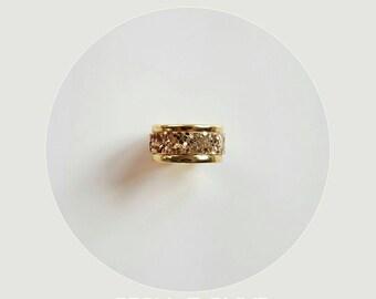 fine golden Galaxy Adjustable ring