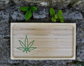 Bamboo Rolling Tray