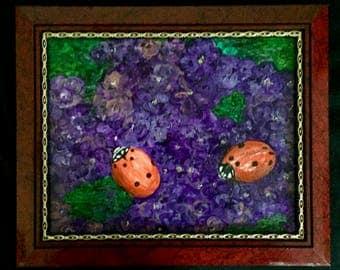 Two Little Lady Bugs