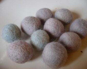 Pearl wool, wool beads, wool beads, 1.5 cm in diameter