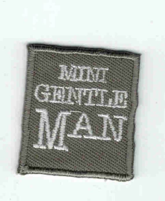 """Patch fusible trend pattern """"gentleman"""""""