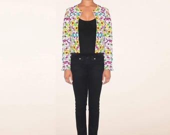 Ethnic bolero jacket
