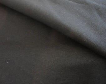 handmade plain, black cotton canvas