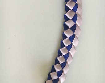 Grosgrain and Satin Ribbon Lei