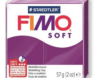 Fimo Soft 57 g - purple N 61 - Ref 68020061