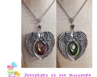 Love and its titanium Hematite necklace