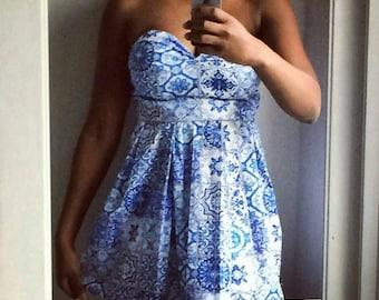 Dutch Dress (Delfts blauw)