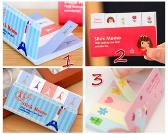 Girl Sticky Notes brand Pages