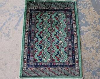 Vintage Pakistani Bokhara 2 x 3 Tribal Area Rug