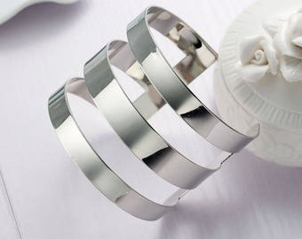 Trendy geometric Cuff Bracelet-