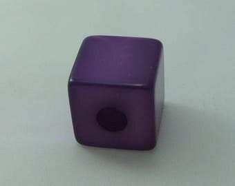 Cube polaris 20 mm bright purple