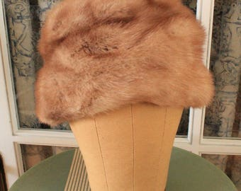 1960's Purly Mink Hat