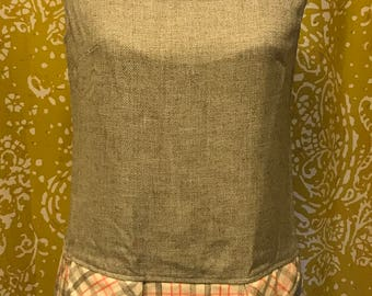Adorable wool tartan jumper