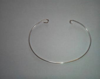 925 Sterling Silver Oval Bangle Bracelet