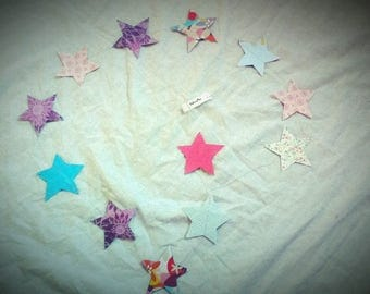 Stars 1.4 m liberty garlands