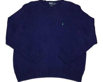 Vintage Polo Ralph Lauren Knit Crewneck