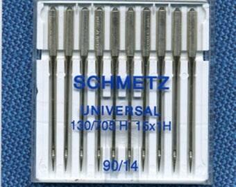 Standard needles n. 90 Schmetz sewing machine