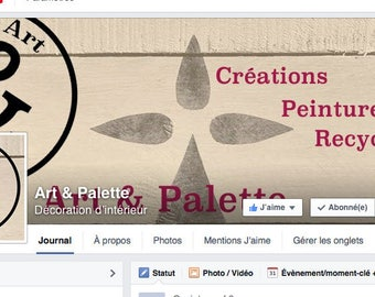 Logo and banner customized shop ALM Facebook Page