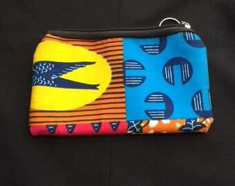 African print /Ankara coin purse