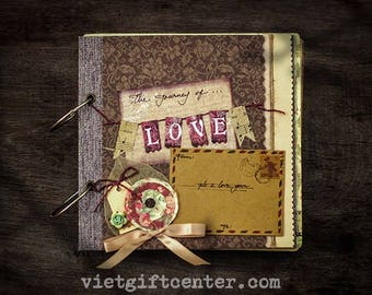 Scrapbook the journey of love - Best gift for your friend