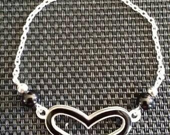 """""""Heart"""" by 17cm bracelet"""