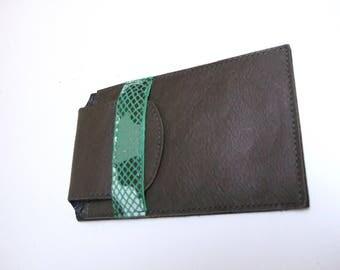 Case all leather khaki Green