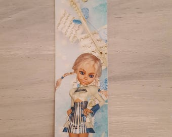 music fairy bookmark