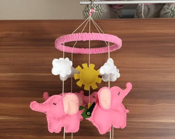Baby mobiles for your nursery, Cot