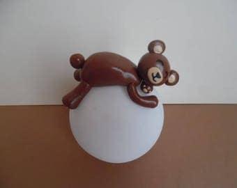 Ball led Nightlight fimo bear child