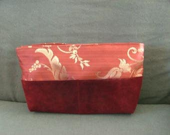 Burgundy cloth bag Organizer