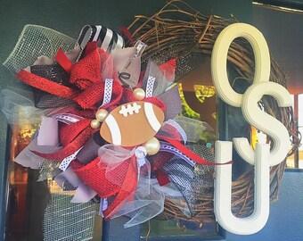 Sports Themed Wreath